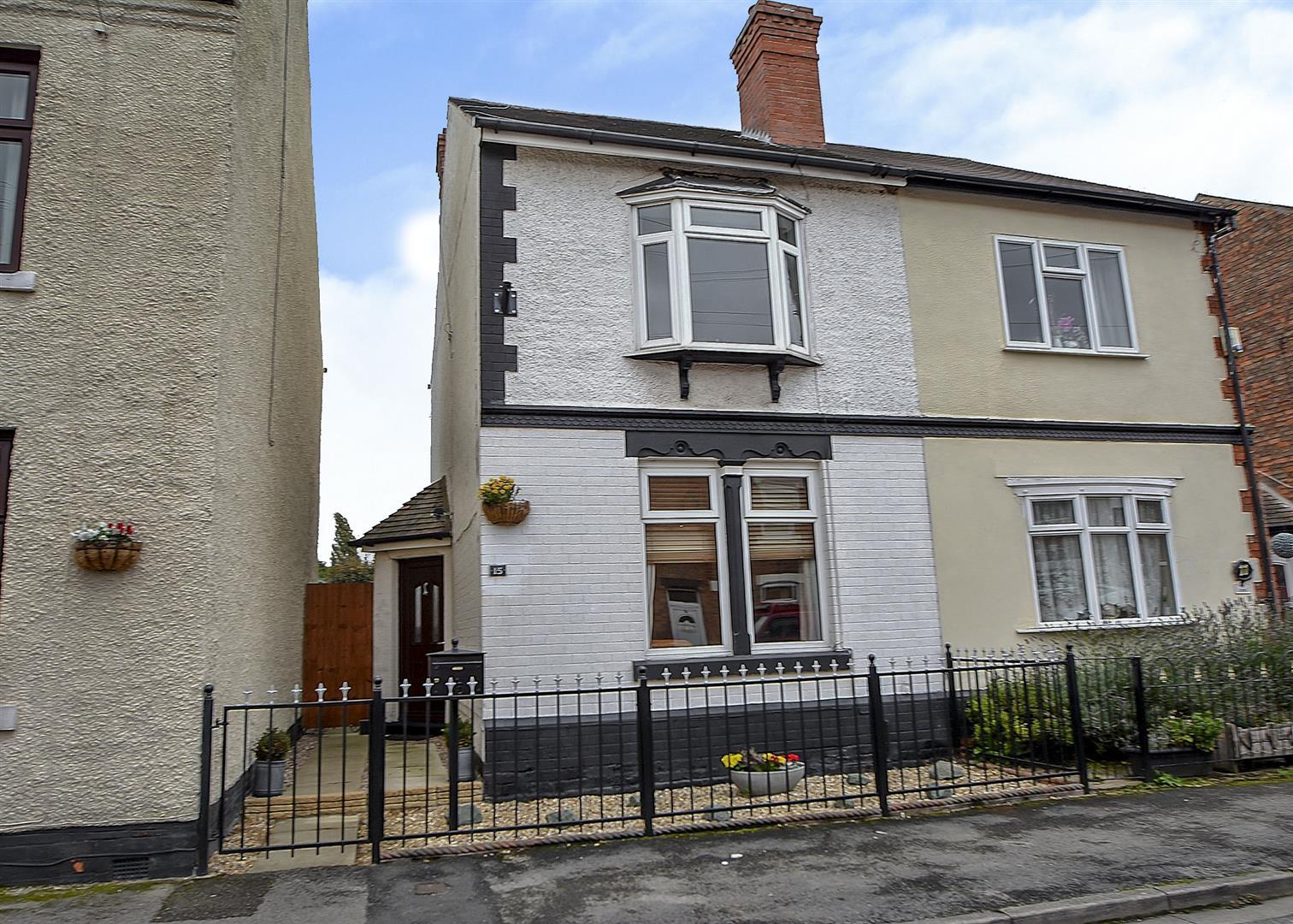 2 Bedrooms Semi Detached House for sale in Harrington Street, Draycott